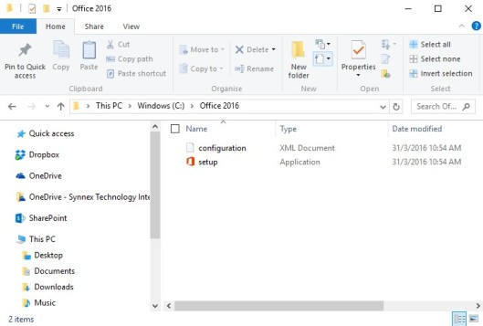 office 365 office 2016 deployment tool